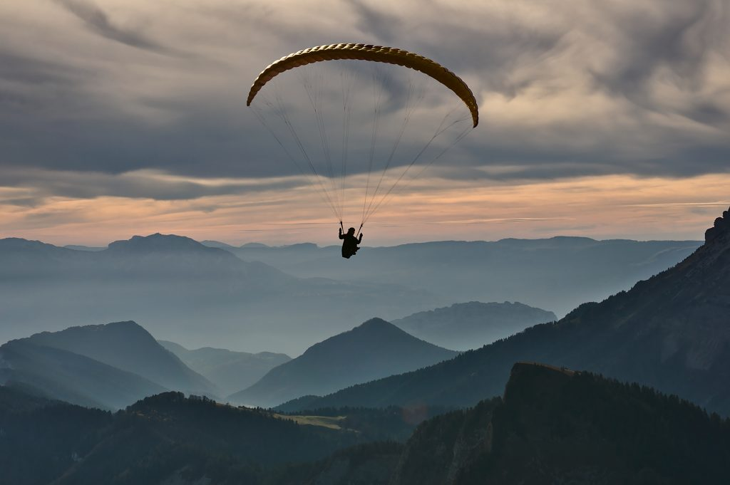 My fascination with paragliding